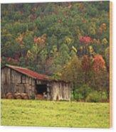 Barn North Carolina 1994 Wood Print