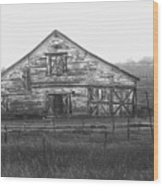 Barn Of X Wood Print