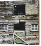 Barn Side Wood Print