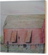 Barn The Red Wood Print