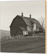 Barn Vermont Horizontal Wood Print