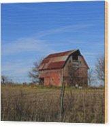 Barn103 Wood Print