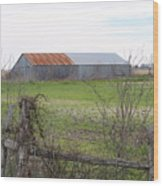 Barn4 Wood Print