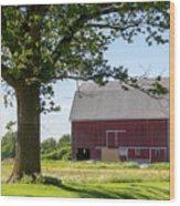 Barn.61 Wood Print