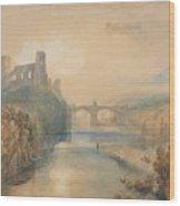 Barnard Castle Wood Print