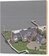 Barnegat Bay House Bay Head New Jersey Wood Print
