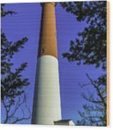 Barnegat Light Standing Tall Wood Print