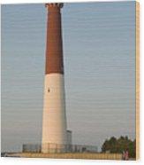 Barneget Lighthouse Wood Print