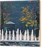 Barney Allis Plaza-kansas City Wood Print