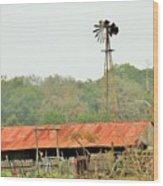 Barns 005 Wood Print