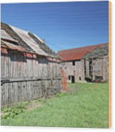 Barns Of Old Wood Print