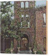 Barnsley Garden Ruins Wood Print