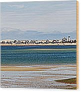 Barnstable Harbor Panorama Wood Print