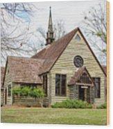 Barnwell Chapel Wood Print