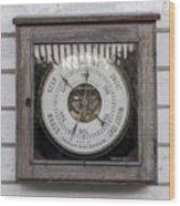 Barometer Wood Print