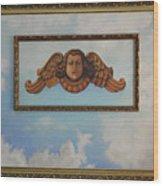 Baroque Angel Wood Print