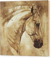 Baroque Horse Series IIi-iii Wood Print