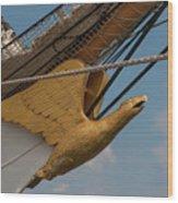 Barque Eagle Masthead Wood Print