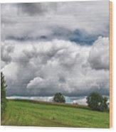 Barre Clouds 2181 Wood Print