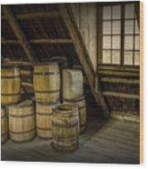 Barrel Casks Wood Print
