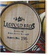 Barrel No.196 Wood Print