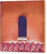 Barrel Tile Wood Print