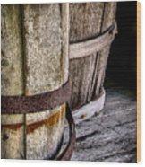 Barrels Wood Print
