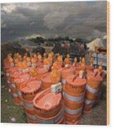 Barrels O'dab Wood Print