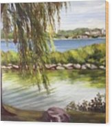 Barrie Waterfront Wood Print