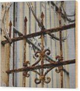 Barriers Wood Print