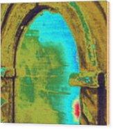 Barrie's New Door Wood Print