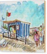 Barril Beach 05 Wood Print