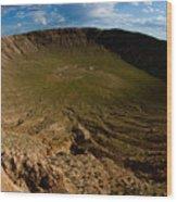 Barringer Meteor Crater #3 Wood Print