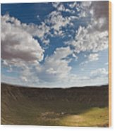 Barringer Meteor Crater #4 Wood Print