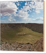 Barringer Meteor Crater #5 Wood Print