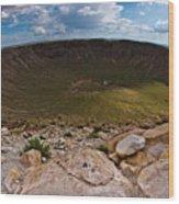 Barringer Meteor Crater #6 Wood Print