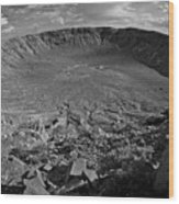 Barringer Meteor Crater #7 Wood Print