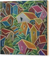 Barrio Lindo Wood Print
