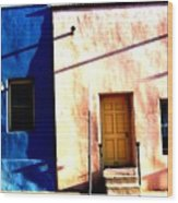 Barrio Viejo 1 Wood Print
