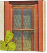 Barrio Window Wood Print