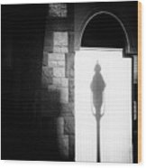 Barristers Window Wood Print by Bob Orsillo