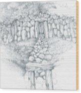 Barrow Tomb Wood Print