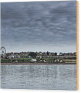 Barry Island Panorama Wood Print