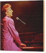 Barry Manilow-0800 Wood Print