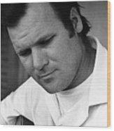 Barry Sadler 1 With Guitar Tucson Arizona 1971 Wood Print