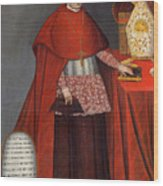Bartholomew Fabro Y Palacios - Bishop Of Huamanga  Wood Print