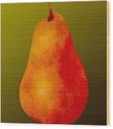 Bartlett Pear Wood Print