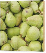 Bartlett Pears Wood Print