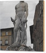 Bartolomeo's Neptune Fountain 2 Wood Print