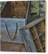 Bartram's Garden Boxes Wood Print